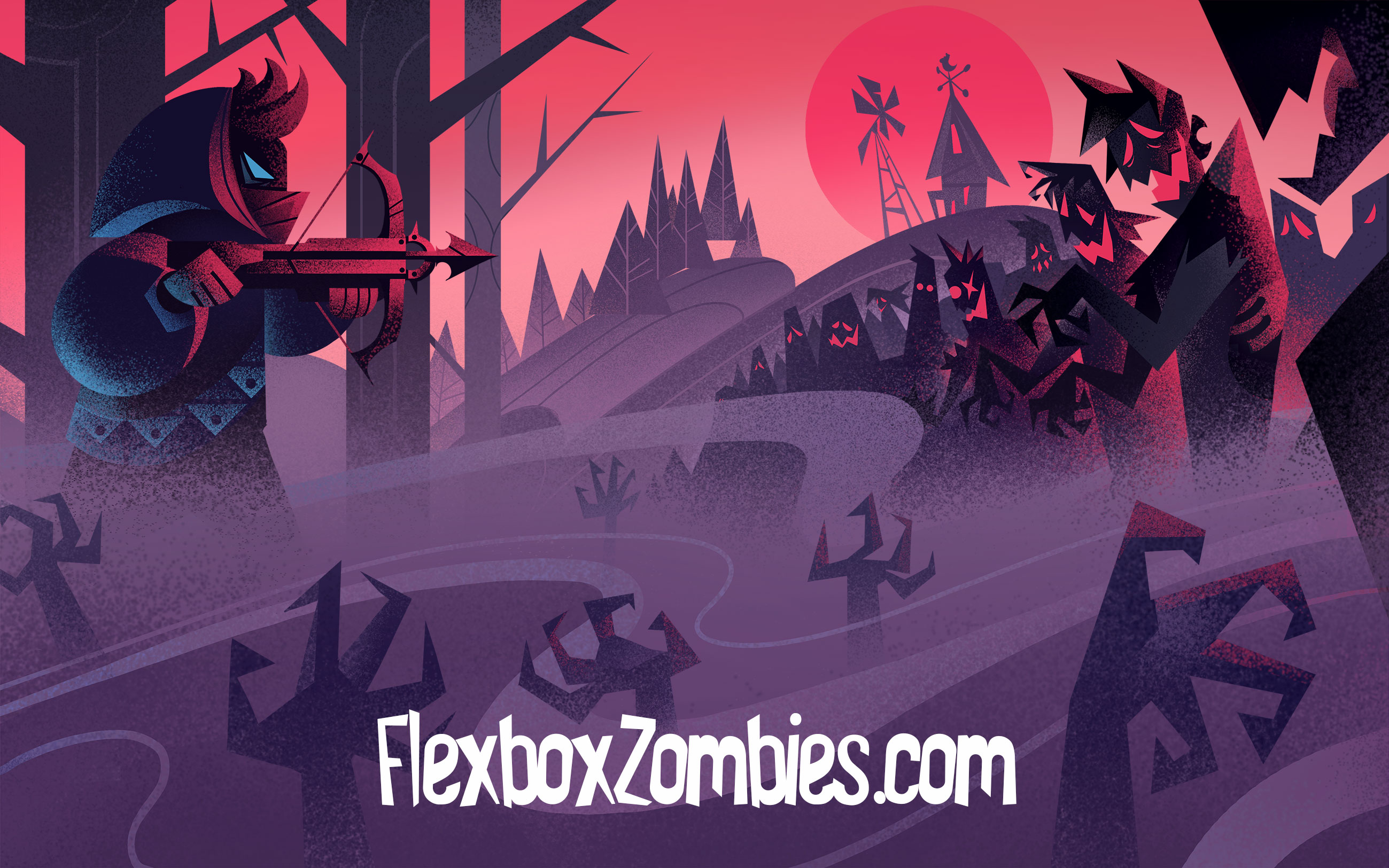 Flexbox Zombies Game