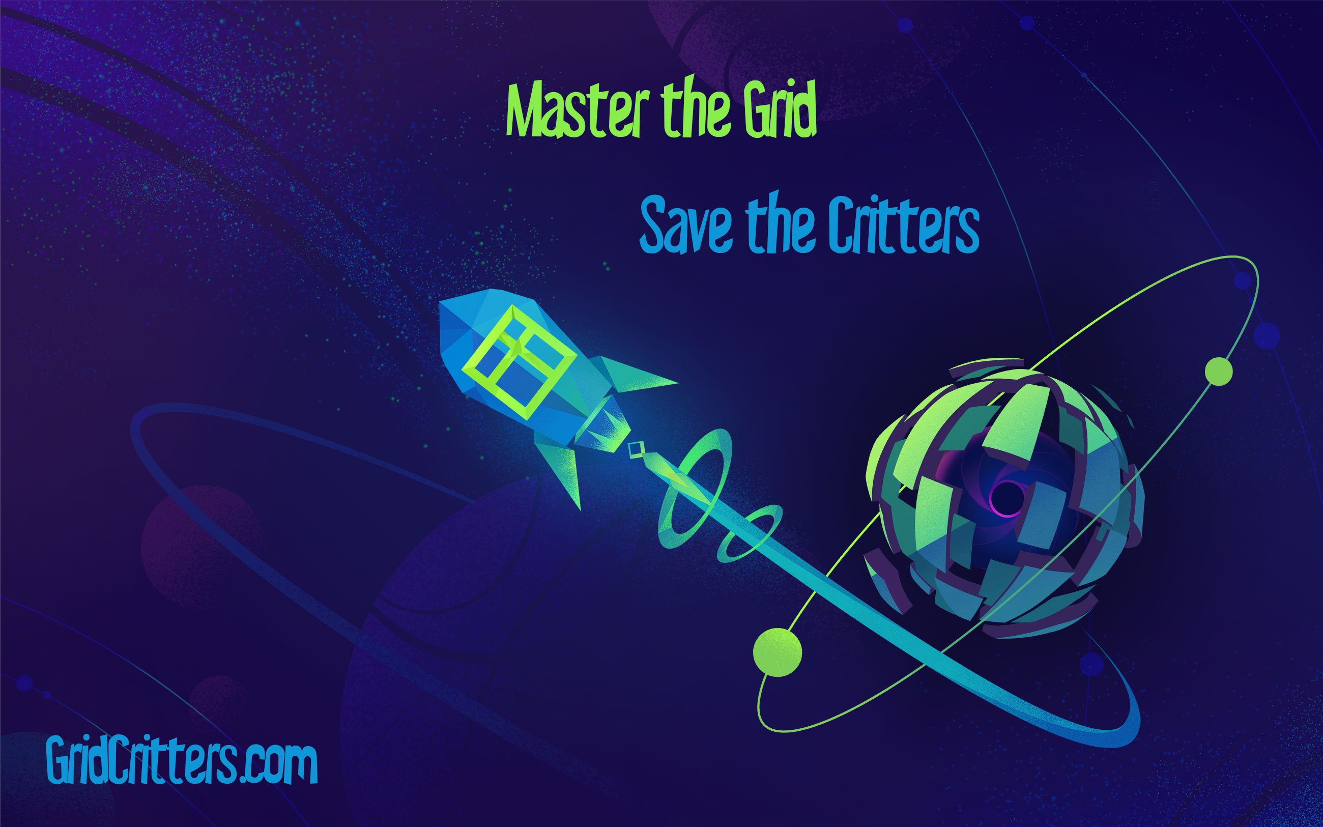 Grid Critters Game